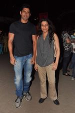 Farhan Akhtar, Zoya Akhtar at the 1 Billion Rising concert in Mumbai on 14th Feb 2013 (4).JPG