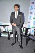 Karan Singh Grover at the Press conference of ZEE TV_s serial Qubool Hain in Westin Hotel, Mumbai on 14th Feb 2013 (35).JPG