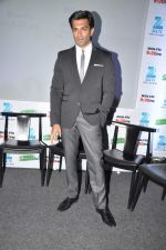 Karan Singh Grover at the Press conference of ZEE TV_s serial Qubool Hain in Westin Hotel, Mumbai on 14th Feb 2013 (33).JPG
