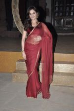 Monica Bedi at Sanjay Leela Bhansali_s Sarwasti Chandra serial launch in Filmcity, Mumbai on 14th Feb 2013 (13).JPG
