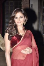 Monica Bedi at Sanjay Leela Bhansali_s Sarwasti Chandra serial launch in Filmcity, Mumbai on 14th Feb 2013 (18).JPG