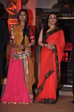 Rani Mukherjee, Jennifer Winget at Sanjay Leela Bhansali_s Sarwasti Chandra serial launch in Filmcity, Mumbai on 14th Feb 2013 (49).JPG