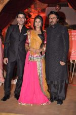 Sanjay Leela Bhansali, Jennifer Winget, Gautam Rode at Sanjay Leela Bhansali_s Sarwasti Chandra serial launch in Filmcity, Mumbai on 14th Feb 2013 (64).JPG