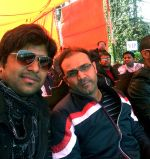 aman trikha & virendra sehwag at Tihar jail in Delhi on 13th Feb 2013.jpg