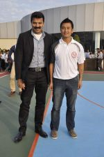 Bhaichang Bhutia at Nirmal lifestyle University Football League launch in Mulund, Mumbai on 15th Feb 2013 (1).JPG