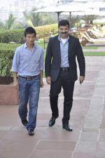 Bhaichang Bhutia at Nirmal lifestyle University Football League launch in Mulund, Mumbai on 15th Feb 2013 (2).JPG