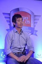 Bhaichang Bhutia at Nirmal lifestyle University Football League launch in Mulund, Mumbai on 15th Feb 2013 (7).JPG