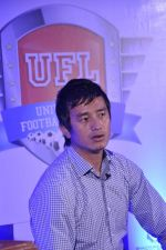 Bhaichang Bhutia at Nirmal lifestyle University Football League launch in Mulund, Mumbai on 15th Feb 2013 (8).JPG