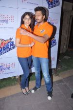 Ritesh Deshmukh, Genelia_s tram Veer Maratha get sponsored by Sahana Group of companies Jai Maharashtra new channel in J W Marriott, Mumbai on 15th Feb 2013 (4).JPG
