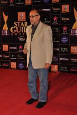 Alok Nath at Star Guild Awards red carpet in Mumbai on 16th Feb 2013 (7).JPG