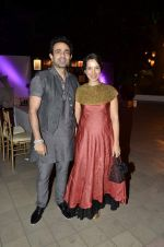 mayank and shraddha nigam at RPG Art camp hosted by Harsh Goenka and Vikckram Sethi in Mumbai on 16th Feb 2013.JPG