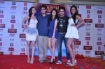 Evelyn Sharma, Kunaal Roy Kapur, Pooja Salvi, Ayushmann Khurrana, Gaelyn Mendonca at the Music launch of Nautanki Saala at R City Mall in Mumbai on 26th Feb 2013 (70).JPG