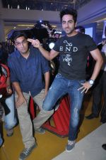 Kunaal Roy Kapur, Ayushmann Khurrana t the Music launch of Nautanki Saala at R City Mall in Mumbai on 26th Feb 2013 (75).JPG