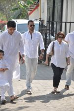 Rohit Roy at sonu nigam_s mom_s funeral in Mumbai on 1st March 2013 (175).JPG