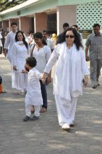 at sonu nigam_s mom_s funeral in Mumbai on 1st March 2013 (165).JPG