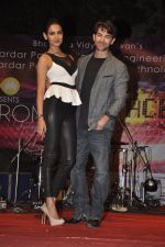 Neil Nitin Mukesh and Sonal Chauhan promote 3G at Bhavans College in Andheri, Mumbai on 1st March 2013 (1).JPG