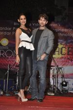 Neil Nitin Mukesh and Sonal Chauhan promote 3G at Bhavans College in Andheri, Mumbai on 1st March 2013 (11).JPG