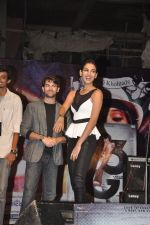 Neil Nitin Mukesh and Sonal Chauhan promote 3G at Bhavans College in Andheri, Mumbai on 1st March 2013 (7).JPG