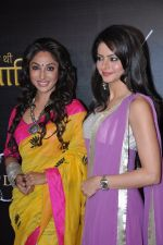 Mouli Ganguly, Aamna Sharif at the launch of Life OK new series Ek Thi Nayaka in Mumbai on 4th March 2013 (13).JPG