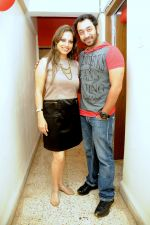 Preety Bhalla with Hiten Paintal at Preety Bhalla_s birthday bash .JPG