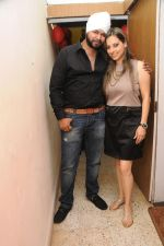 Ramji Gulati With Preety Bhalla at Preety Bhalla_s birthday bash .JPG
