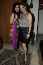 Shibani Kashyap with Preety Bhalla at Preety Bhalla_s birthday bash .JPG