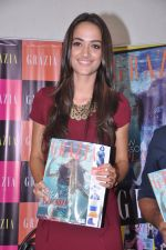 Angela Johnson unveils Grazia special cover issue in Olive, Mumbai on 6th March 2013 (14).JPG