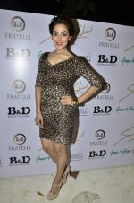 sudeepa singh at Sounia Gohil ss13 collection hosted by Nisha Jamwal and Shagun Gupta in Mumbai on 6th March 2013 (13).JPG