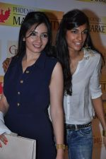 Shonali Nagrani, Anushka Manchanda at Model Shamita Singha hosts women_s day special lunch at Grillopolis in Phoniex Market City, Mumbai on 8th March 2013 (112).JPG