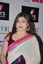 Alka Yagnik at GR8 women achiever_s awards in Lalit Hotel, Mumbai on 9th March 2013 (73).JPG