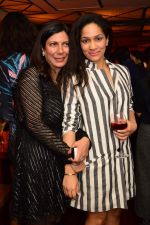 Harmeet Bajaj with Masaba Gupta at Smoke House Cocktail Club in Capital, Mumbai on 9th March 2013.jpg