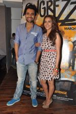 Jackky Bhagnani, Priya Anand at the media promotion of the film Rangrezz in Mumbai on 13th March 2013 (37).JPG