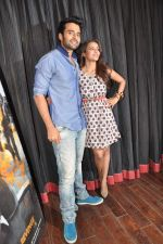 Jackky Bhagnani, Priya Anand at the media promotion of the film Rangrezz in Mumbai on 13th March 2013 (40).JPG