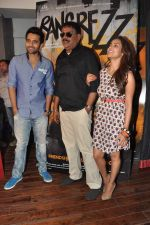 Jackky Bhagnani, Priyadarshan, Priya Anand at the media promotion of the film Rangrezz in Mumbai on 13th March 2013 (37).JPG