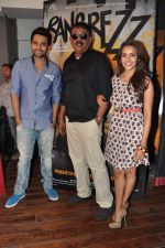 Jackky Bhagnani, Priyadarshan, Priya Anand at the media promotion of the film Rangrezz in Mumbai on 13th March 2013 (38).JPG