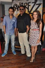 Jackky Bhagnani, Priyadarshan, Priya Anand at the media promotion of the film Rangrezz in Mumbai on 13th March 2013 (39).JPG
