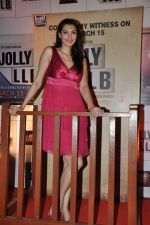 Yukta Mookhey at the Premiere of the film Jolly LLB in Mumbai on 13th March 2013 (93).JPG