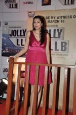 Yukta Mookhey at the Premiere of the film Jolly LLB in Mumbai on 13th March 2013 (94).JPG