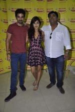 Ram Kapoor, Saqib Saleem, Rhea Chakraborty at the Promotion of movie Mere Dad ki Maruti at radio mirchi in Mumbai on 14th March 2013 (32).JPG