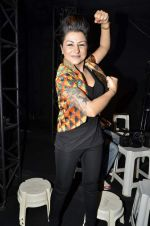 Hard Kaur on day 3 of of Wills Lifestyle India Fashion Week 2013 in Mumbai on 14th March 2013 (133).JPG