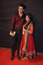 Chandni Bhagwanani, Rishabh Tripathi at CID veera Awards in Andheri Sports Complex, Mumbai on 16th March 2013 (62).JPG