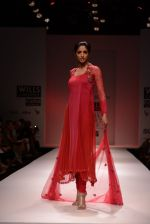 Model walks for Chandrani, Mrinalini, Dhruv-Pallavi Show at Wills Fashion Week 2013 Day 5 on 17th March  (113).JPG