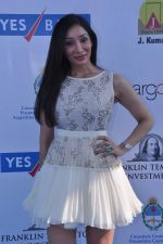 Sofia Hayat at Yes Bank International Polo Cup Match in Mahalaxmi Race Course, Mumbai on 16th March 2013 (48).JPG