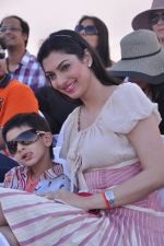 Yukta Mookhey at Yes Bank International Polo Cup Match in Mahalaxmi Race Course, Mumbai on 16th March 2013 (105).JPG