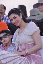 Yukta Mookhey at Yes Bank International Polo Cup Match in Mahalaxmi Race Course, Mumbai on 16th March 2013