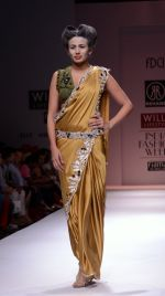 Model walks the ramp for Rehane Show at Wills Lifestyle India Fashion Week 2013 Day 5 in Mumbai on 17th March 2013 (48).JPG