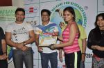 Shaan supports Cyclozeal organised by Humanitarian Welfare and research Centre in Leena Mogre Gym, Mumbai on 17th March 2013 (10).JPG