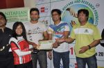 Shaan supports Cyclozeal organised by Humanitarian Welfare and research Centre in Leena Mogre Gym, Mumbai on 17th March 2013 (13).JPG