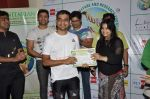 Shaan supports Cyclozeal organised by Humanitarian Welfare and research Centre in Leena Mogre Gym, Mumbai on 17th March 2013 (16).JPG