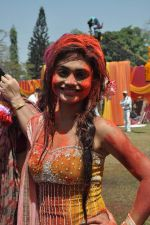 Sreejita De at Colors celebrate Holi in Mumbai on 17th March 2013 (118).JPG